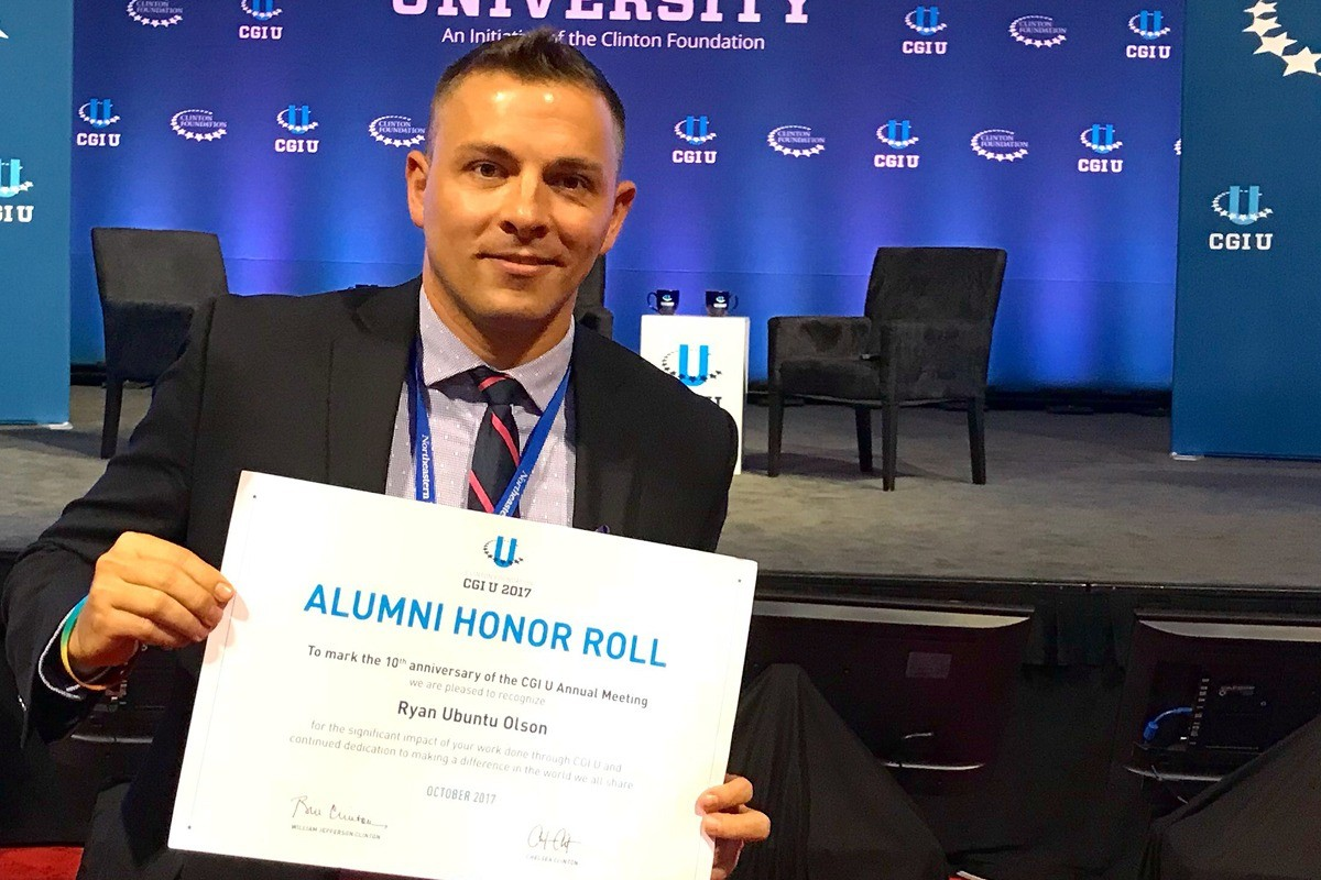 Olson Named to Clinton Global Initiative University Honor Roll